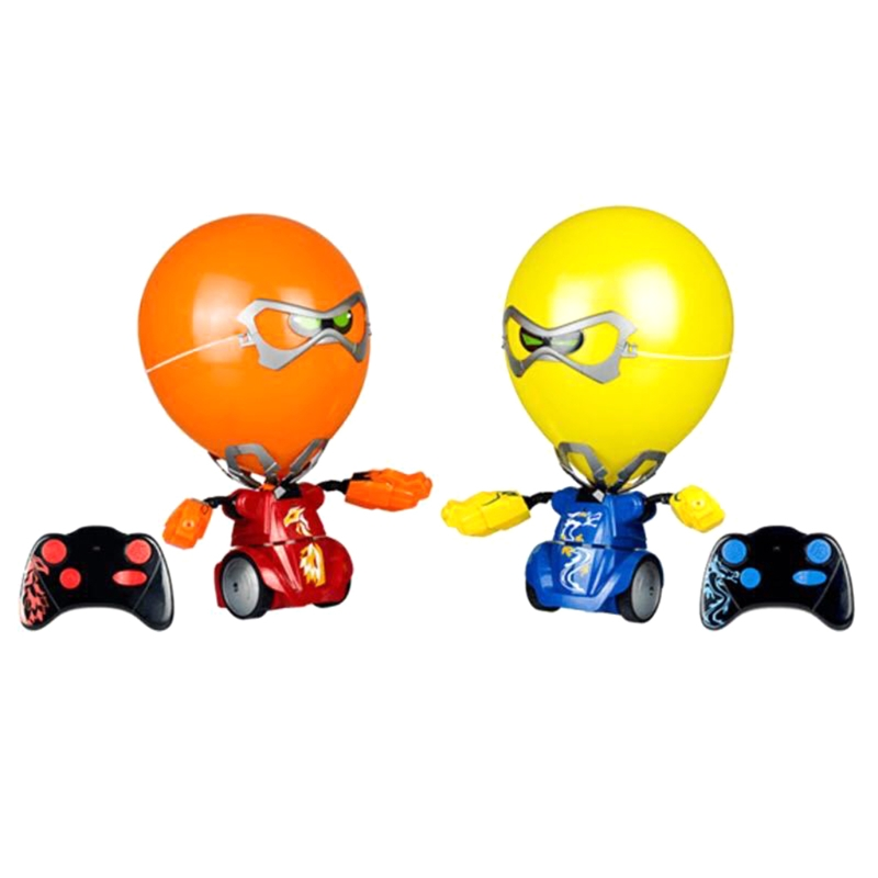 Battle Against Electric Remote Control Balloon Robot