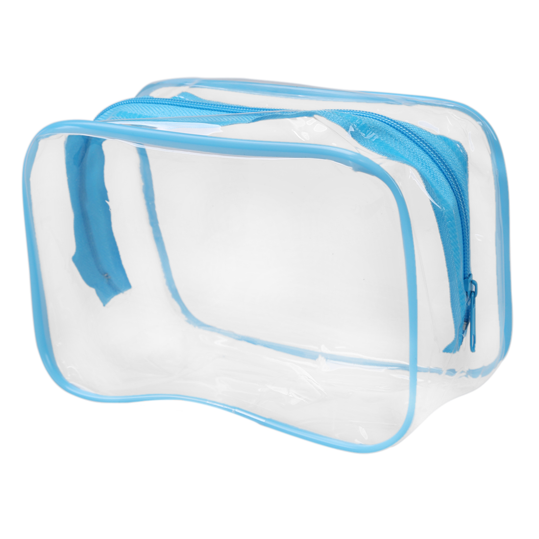 PVC Clear Pouch Travel Bathing Toiletry Zipper Cosmetic Bag