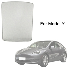 Model Y Sunshade Sun Protection Roof Sun Shade for Tesla Model Y 2021 Sunroof Shade UV Rays Protection Window Shade