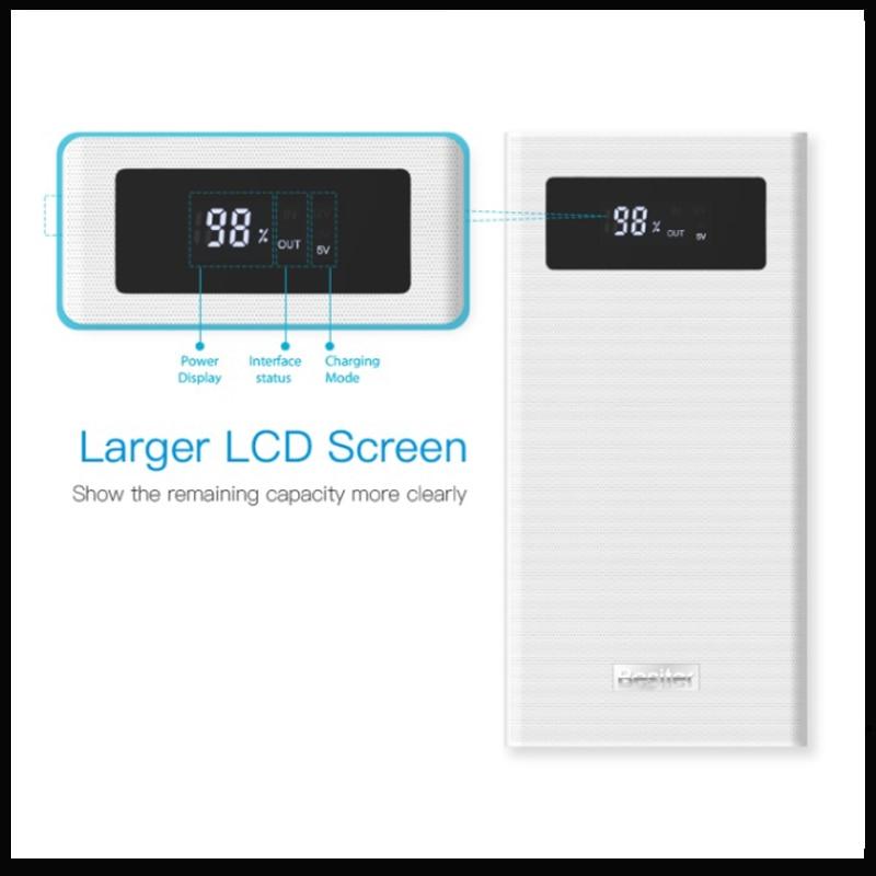 PowerBank 3.0 Quick Charge Besiter K6X 20000mAh Power Bank   Charger For Phone/For Phone Power Bank