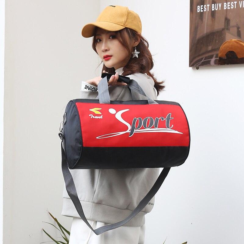 SHUJIN Men Travel Sport Bags Light Luggage Business  Handbag Women Outdoor Duffel Weekend Crossbody Shoulder Bags Pack
