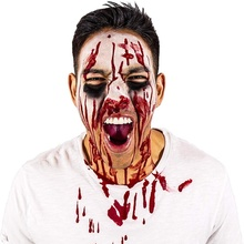 Halloween Plasma Clothing Cosplay Props Terrible Bloody Fake Blood Simulation  Theater Zombie Vampire Mask