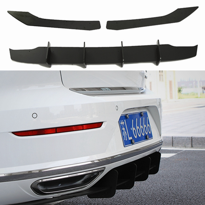Oppl parachoques protección parachoques ABS 3d carbon diseño para VW arteon 2017