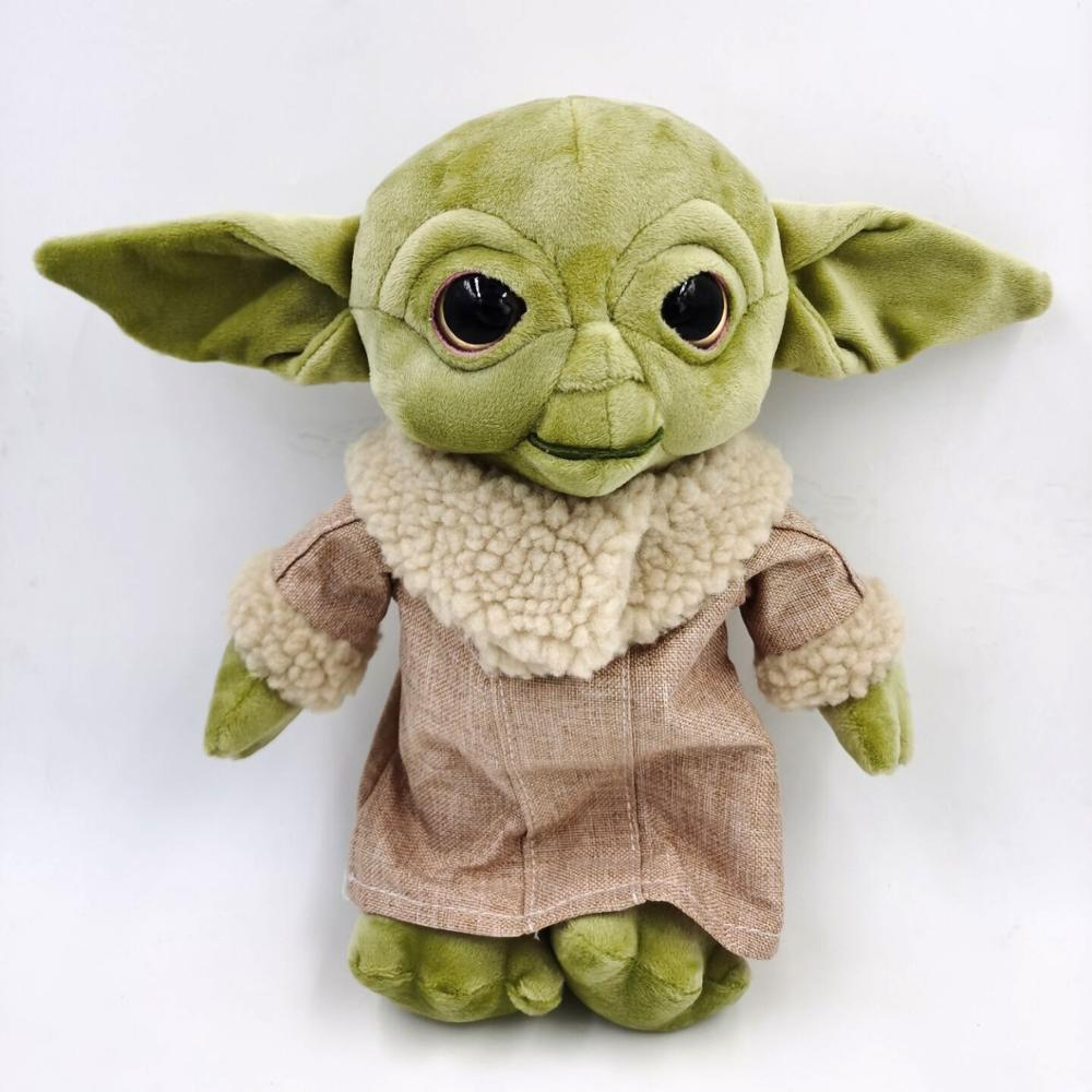 Star Wars Force Awakens Master Baby Yoda 30cm Plush Toy Gift For Child Adult