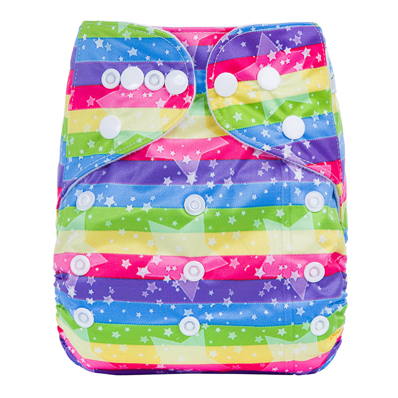 Organic Baby Cloth Nappies Reusable Sleepy Baby Pant Diapers For Baby Eco Friendly Nappies Washable P2