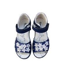 Moda 1 çift kız hakiki deri ortopedik ayakkabılar, süper kalite yaz çocuk çocuk ayakkabıları