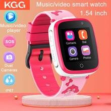 Детские Смарт-часы KG06, музыкальные игры, 2G, Смарт-часы, SOS, две камеры, смарт-часы с телефоном, видеорегистратор, детские часы, часы