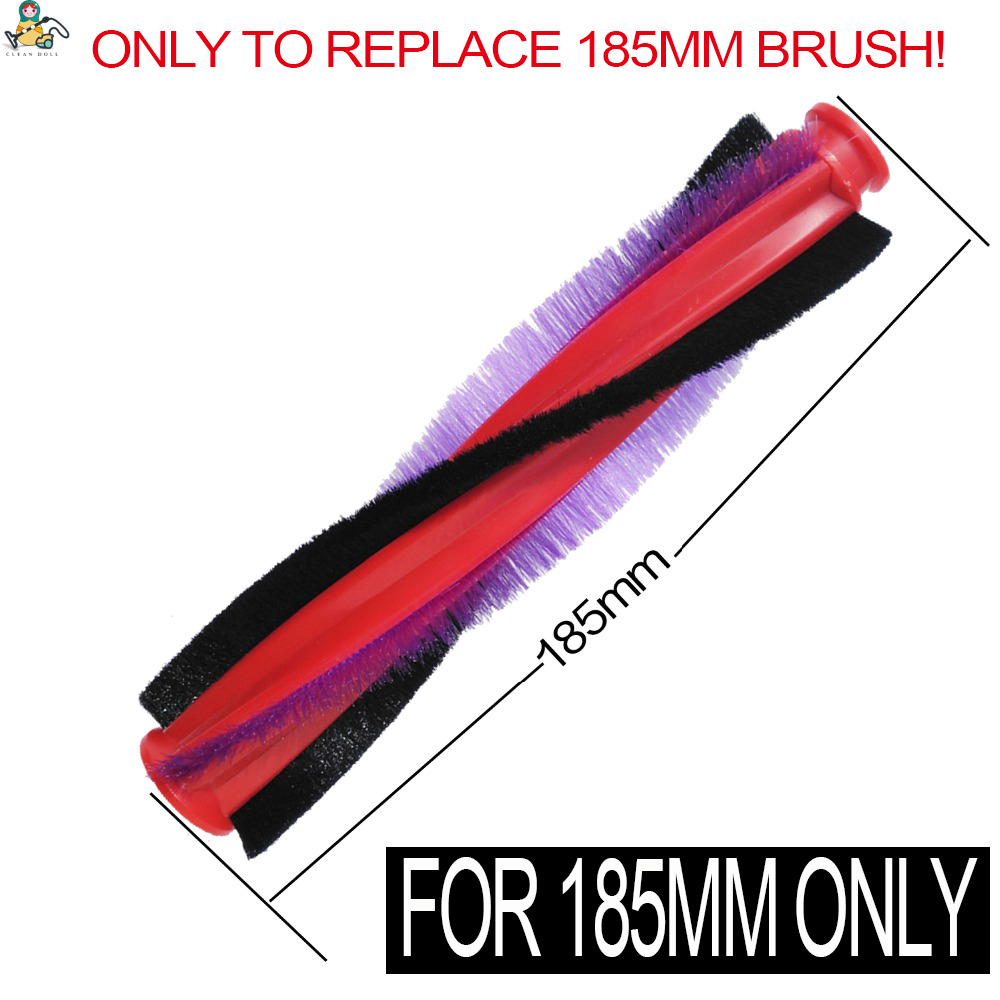 185mm Nylon Bristle Brush For DYSON V6 Brush DC59 DC62 SV073  SV03 963830-01 For Dyson 211mm Motorhead Narrow Floor Tool Only