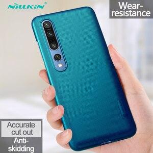Image 1 - Xiaomi Mi için 10 Pro Mi 9 Lite Mi 9T A3 not 10 durumda Nillkin buzlu kalkanı sert PC telefon kılıfı için Xiaomi Mi10 Mi9 SE Mi9T Mix 3