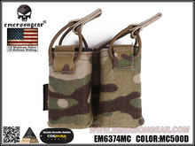 emersongear Emerson Double Mag Pouch FOR SS Vest 556 762 Magazine Pouch Airsoft Hunting Mag Holder Pouch цены онлайн