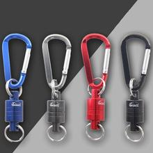 New High-quality Strong Magnetic Carabiner Portable Outdoor Fishing Mountaineering Release Lanyard Durable
