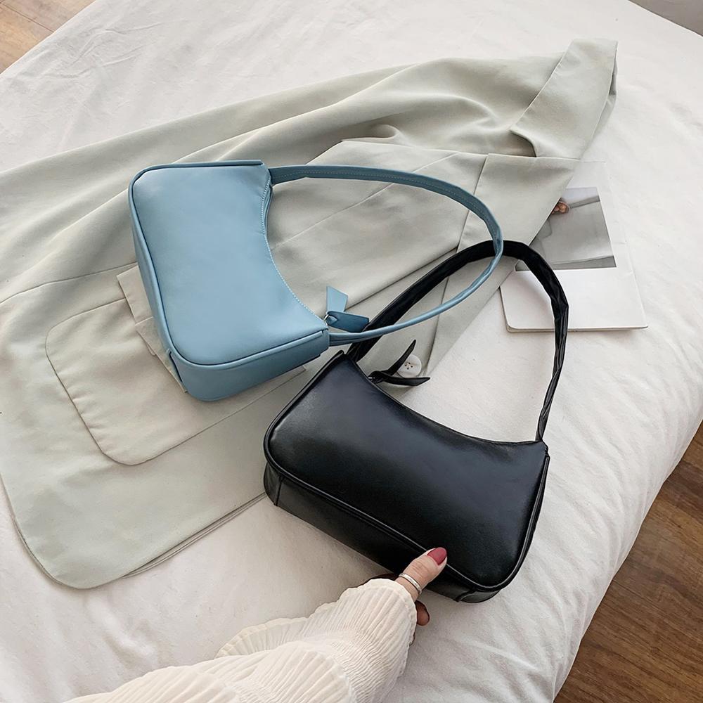 Sacs fourre-tout rétro pour femmes sac à main en cuir PU femmes - Des sacs
