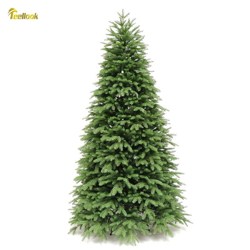 Teellook 1,2 м/3,0 м PE шифрование Рождественская елка рождественский отель торговый центр предмет интерьера, украшение