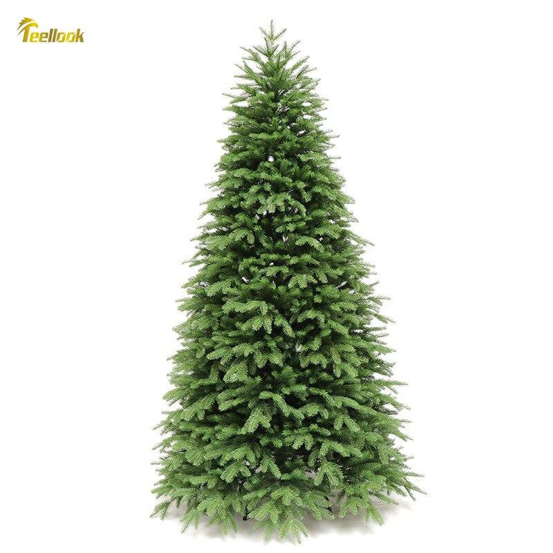 Teellook 1,2 m/3,6 m PE verschlüsselung Weihnachten baum Weihnachten Hotel shopping mall hause dekoration ornamente