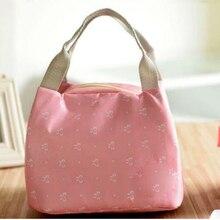 Портативная термоизолированная Сумочка для обедов, сумка для хранения, женская сумка для переноски, сумка для еды