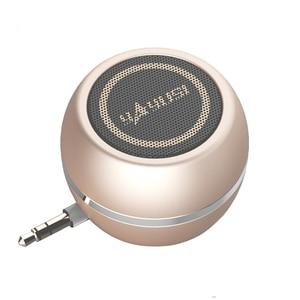 Image 1 - Altavoz portátil A5 mini, altavoces para ordenador de 3,5 MM con conector de audio MP3, WMA, altavoz elegante Super mini para exteriores