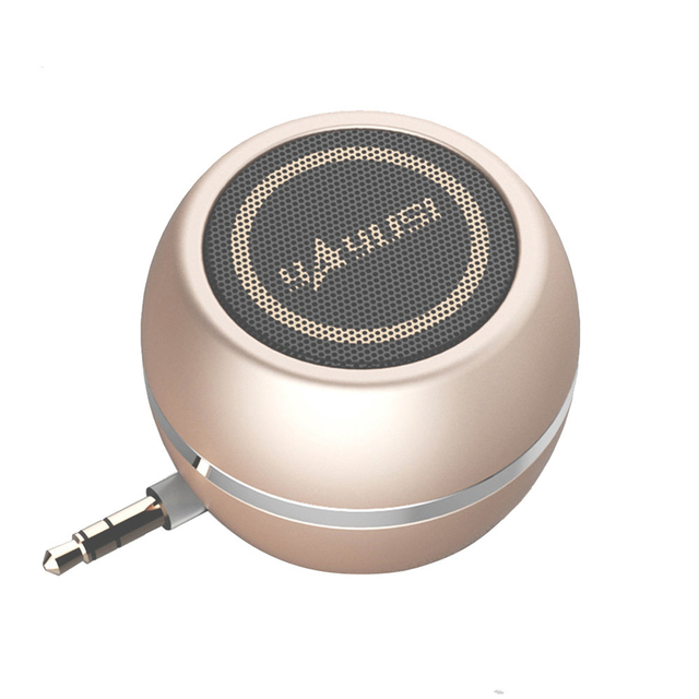 Altavoz portátil A5 mini, altavoces para ordenador de 3,5 MM con conector de audio MP3, WMA, altavoz elegante Super mini para exteriores