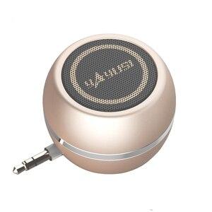 Image 1 - Altoparlante portatile A5 mini altoparlanti del computer audio da 3.5MM jack MP3 WMA Elegante rima Super mini altoparlante esterno