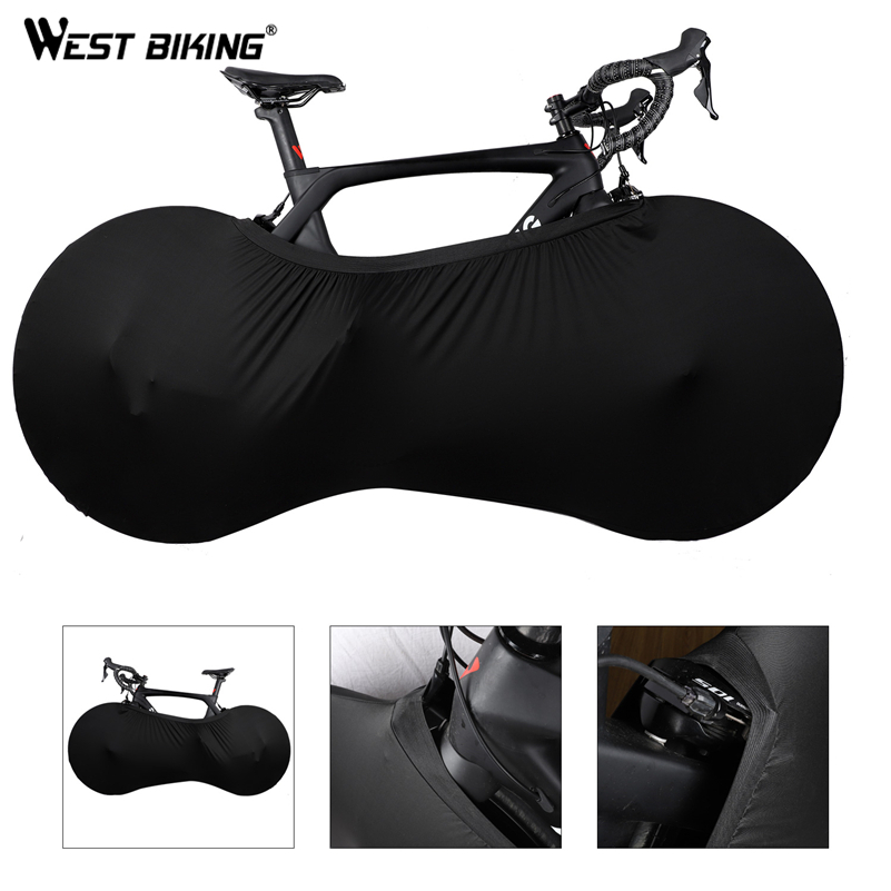 WEST BIKING MTB Road Bike Protector Wheels Cover Dust-Proof Scratch-proof Indoor Protective Gear 26 27.5 29 700C Storage Bag