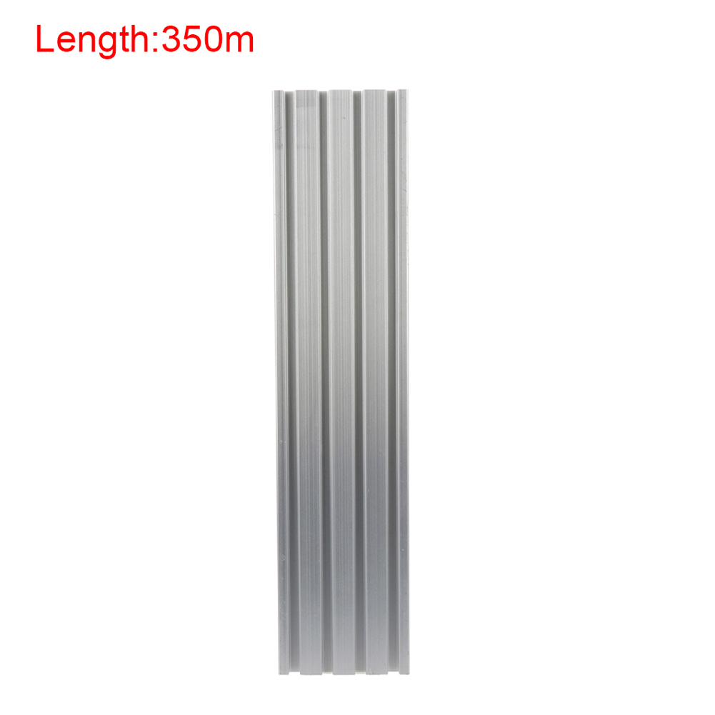 CNC Metals Custom Machine Frames 350mm 500mm Length 2080 T-Slot Aluminum Profiles Extrusion Frame For Workstations Prototyping