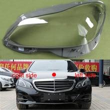 Pantalla transparente para lámpara carcasa de faro delantero, para Benz W212, E200L, E260L, E280L, E300L, E350L, 2014, 2015