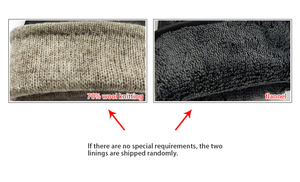 Image 4 - CHING YUN winter hand stitched mens deerskin gloves deer skin mens warm soft mens black corrugated gloves 70% wool lining