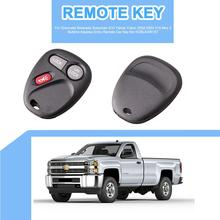 3 Buttons Keyless Entry Remote Car Key fob KOBLEAR1XT For Chevrolet Silverado Suburban S10 Tahoe Yukon 2002-2004 315 Mhz