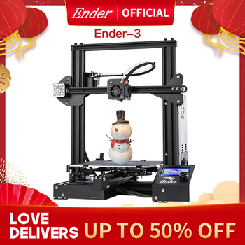 Ender-3 3D Printer Kit Large Print Size Ender3/Ender-3X Printers Continuation Print Power Creality 3D 1