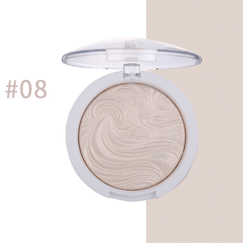 12 Color Highlighter Facial Bronzers Palette Shimmer Pink Powder Makeup Glow Face Contour Illuminator Highlight Pallet Cosmetics