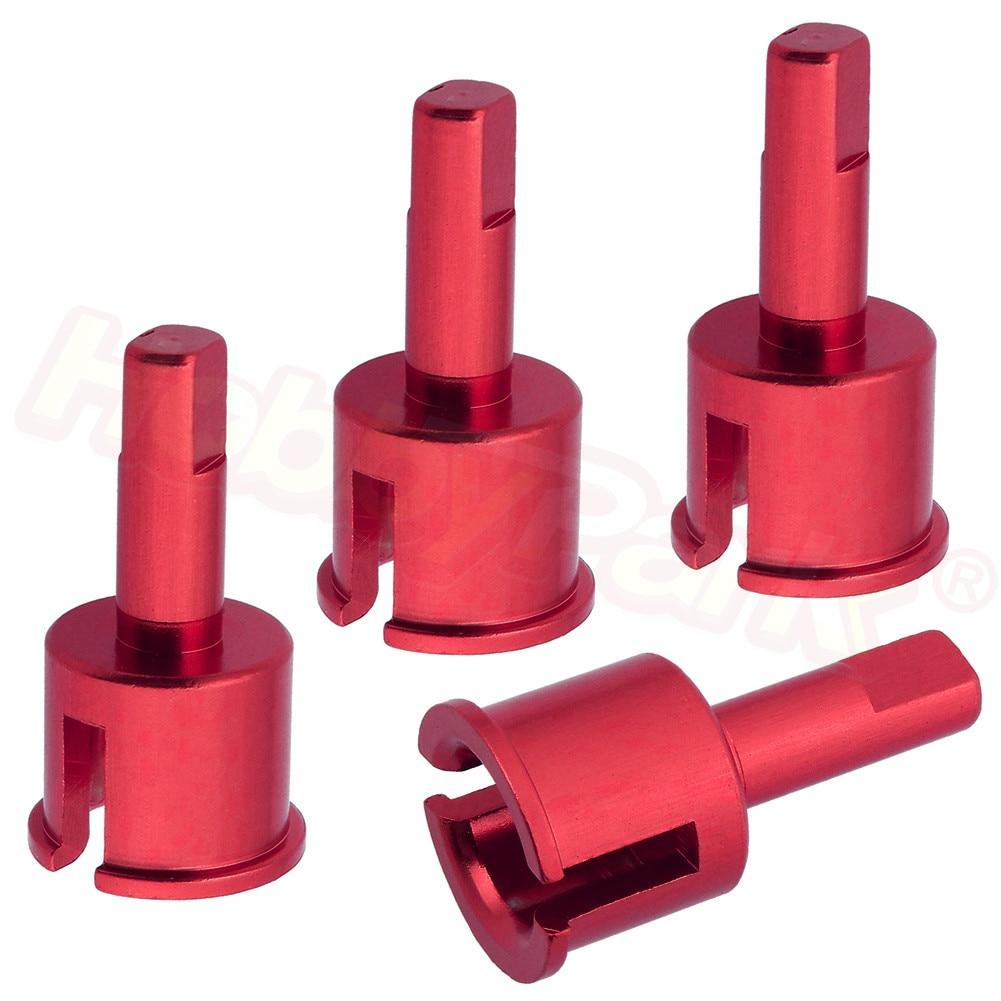 4pcs Himoto E18 Upgrade Parts M613 Aluminum Diff Outdrives Joint Cup For RC 1/18 Electric Spino E18XBL Mastadon E18MTL 23618