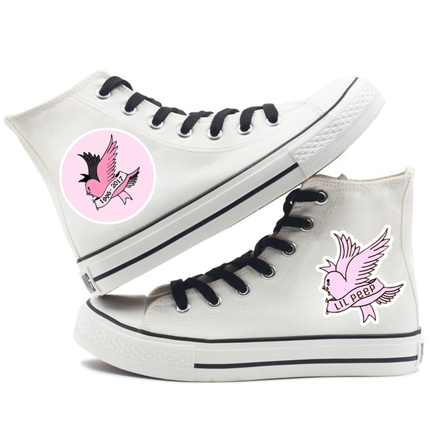LIL PEEP THEMED HIGH TOP SHOES (14 VARIAN)