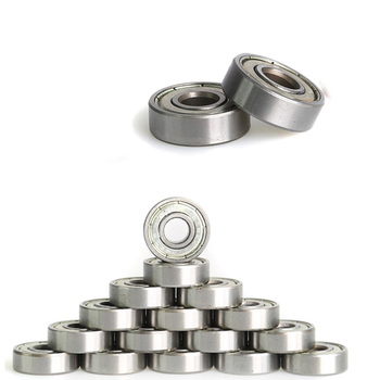 16pcs/set ABEC-7 Miniature Ball Radial Ball Bearings For Roller Skate Shoes Accessories 608zz 10pcs lot abec 7 608zz shafts stainless steel bearings roller scooter ball bearings skate skateboard wheels silver bearings