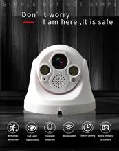 Wide Angle IP Camera Audio Dome IP Camera Security indoor ipcam 1080P FULL HD CCTV ONVIF Surveillance Cameras wifi camera NVR цены онлайн