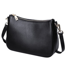 جلد طبيعي السيدات عادية صغيرة حقائب كروسبودي للنساء موضة حقيبة كتف المرأة حقائب الإناث الطرف مخلب المحفظة