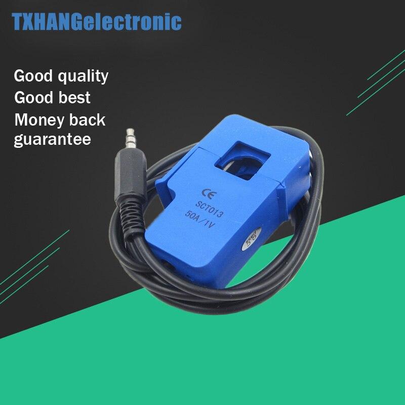 1pcs  SCT-013-050 Non-invasive AC Current Sensor Clamp Sensor 50A Diy Electronics