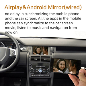 Image 5 - Sinairyu Apple Carplay inalámbrico para coche Land Rover/Jaguar Discovery Sport f pace Discovery 5, Android, Auto Mirror, Wifi, iOS13
