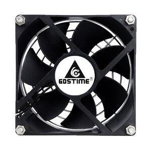 Image 2 - 2Pcs Gdstime  EC Brushless Fan Axial Fan 60mm 80mm 90mm 120mm PC Cooler AC 110V 115V 120V 220V 230V 240V EC Fan Computer Case