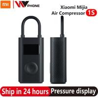 Xiaomi Mijia-ポータブル電動エアコンプレッサー,1s,miエアポンプ,タイヤ,センサー,オートバイ,車両,モデル2021
