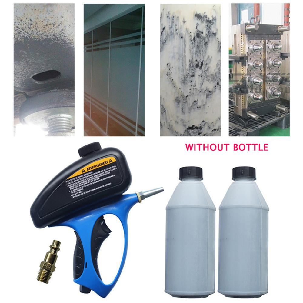 Anti-rust Sandblaster Air Compressed Glass Tombstone Sandblasting Machine With Small Nozzle