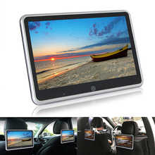 10.1 calowy Monitor montowany za zagłówkiem samochodu odtwarzacz MP5 Mirror link HD 1080P Monitor FM Bluetooth z odtwarzaczem multimedialnym USB/SD