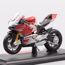 Maisto 1 18 Ducati Panigale V4 S GP Corse Scale Motorcycle Model Diecasts & Toy Vehicle X Diavel 1098s 848 EVO GP18 Racing Bike