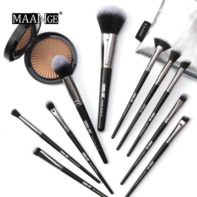 20pcs Professional Makeup Brushes Cosmetic Powder Eye Shadow Foundation Blush brow brush lip brush drop shipping 4