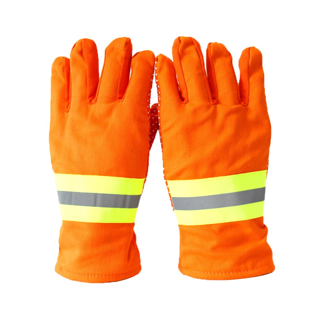 Fire Gloves Firefighters Fire Protection Gloves Ga7-2004 Standard 97 Firefighters Hand Da-075