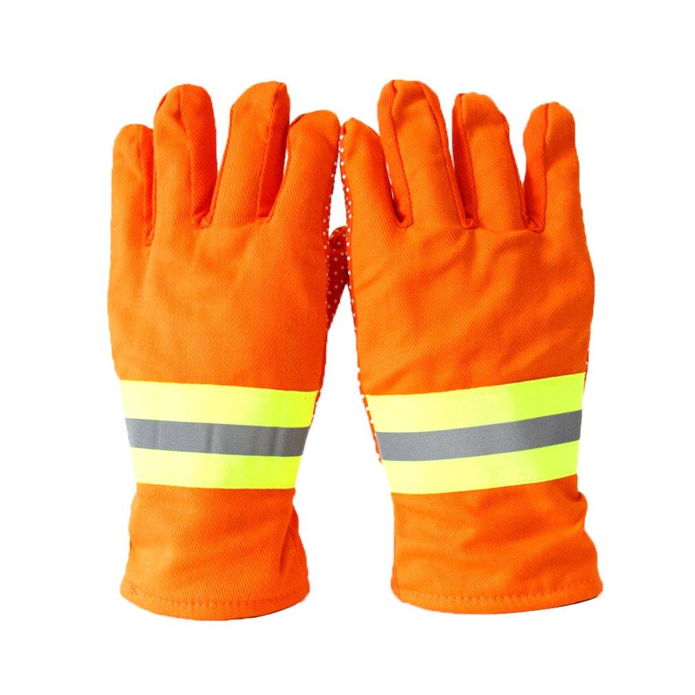 Fire Gloves Firefighters Fire Protection Gloves Ga7-2004 Standard 97 Firefighters Hand Da-075