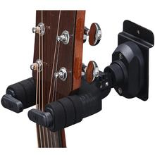 Hot sale Guitar Hanger Hook Holder Wall Mount Stand Rack Bracket Display for Guitars Bass Ukulele String Instrument Accessories guitar ukelele wall mount stand hanger rack hook wooden base bracket universal bass display compact easy to install