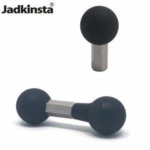 Image 1 - Jadkinsta 1 Inch Bal Mount Adapter Dubbele Of Enkele Bal Hoofd Voor Gopro Action Camera Smartphone Gps Bracket Converter