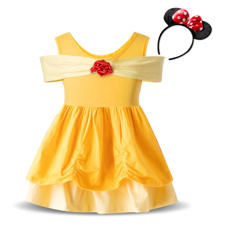 H9b2a0d334952445f988dd4f704ce0d4em Fancy Kids Dresses for Girls Birthday Easter Cosplay Minnie Mouse Dress Up Kid Costume Baby Girls Clothing For Kids 2 6T Wear