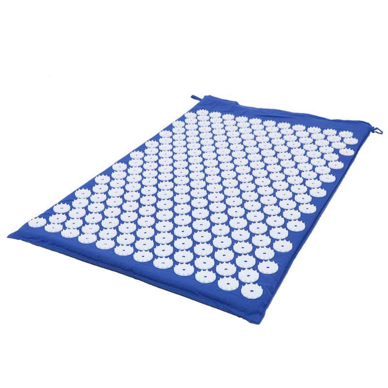 Acupressure Massage Mat with Pillow set to body Relaxation to Release Stress and Tension 9