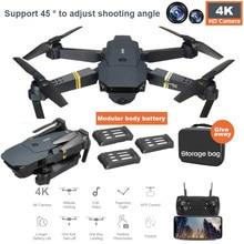 Wifi fpv com grande angular mini hd zangão 4k profesional câmera de altura modo de espera braço dobrável rc quadcopter zangão x pro rtf