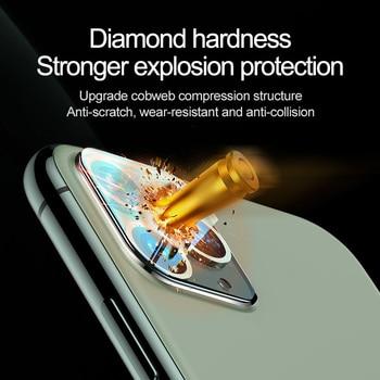 2 шт. 9D защитное стекло на объектив iPhone 12 5